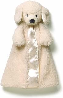Gund Baby Fluffey Huggybuddy Blanket, Cream (Discontinued by Manufacturer)