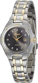 Seiko Women's SXDB50 Diamond Marker Two-Tone Dress Watch