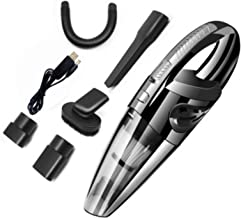 Handheld Vacuum Cleaner Battery, Powerful Cyclone Vacuum Cleaner, Portable Rechargeable Vacuum Cleaner, Easy to Use, Quick...