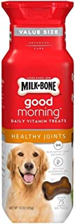 Milk-Bone Good Morning Healthy Joints Daily Vitamin Dog Treats, 15 oz., Pack of 2