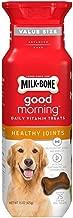 Milk-Bone Good Morning Healthy Joints Daily Vitamin Dog Treats, 15 oz., Pack of 2