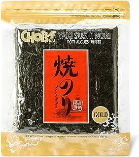 comprar comparacion DAECHUN LAVER CO., LTD. Sushi Nori, Tostado resellable de mar (50 hojas completas) Grado de oro 125g