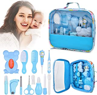 Baby Healthcare Grooming 14 Kits, 13In1 Baby Care Products Nail Clippers Trimmer Set, Newborn Essentials Stuff Shower Gift...