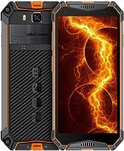 "$359 » Ulefone Armor 3W Rugged Cell Phone Unlocked, Rugged Smartphone Android 9.0 IP69 Waterproof Outdoor 5.7"" Helio P70 6GB+64GB 10300mAh 4G Dual SIM Phone Heart Rate GPS Glonass Compass (Orange)"
