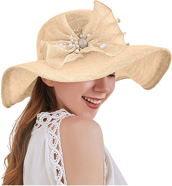 Women's Organza Church Kentucky Fascinator Bridal Tea Party Wedding Hat