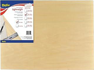 Helix Wooden Lightweight Drawing Board, 18 x 24 Inch, Plain Edge (37412)