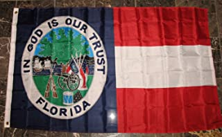 Florida Republic Flag 3'x5' 1861 1st State Banner
