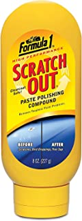 LAXON - Formula 1 Scratch Out Paste for Cars & Bikes (227 g)- (for Minor Scratches)