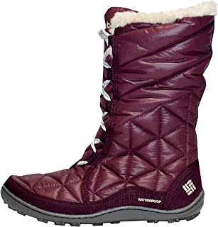 purple womens boots size 10