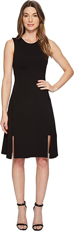 Susana Monaco Alexa Double Layer Sleeveless Dress