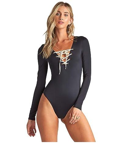 Billabong Onyx Wave Bodysuit (Black) Women
