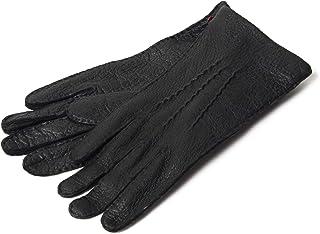 DENTS デンツ 15-1041 MELTON ペッカリーレザー グローブ 手袋 手ぶくろ アームウェア カラーBLACK/ブラック メンズ [並行輸入品]