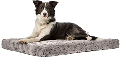 MIXJOY Memory Foam Dog Bed for Small Medium Large Extra Large Dogs, Soft Calming Pet Bed, Orthopedic Joint Relief, Outdoor...
