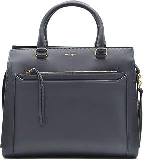 Luxury Fashion   Saint Laurent Womens 35581800Y0W1251 Blue Handbag   Fall Winter 19