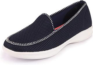 FAUSTO Women's Light Weight Mesh Walking Shoes with Memory Cushion