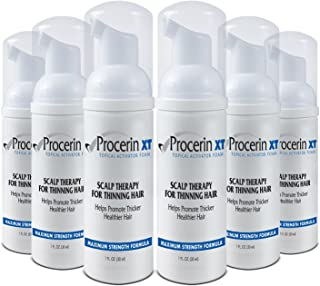 Procerin Hair Loss Foam (No Minoxidil) - Maximum Strength DHT Blocking Formula - Clinically Proven to Combat Baldness & Receding Hairline