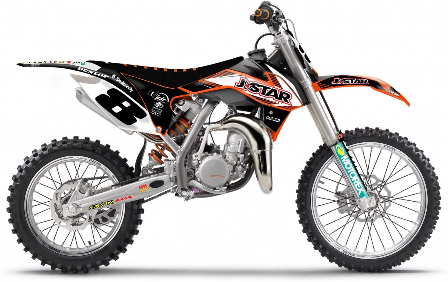 2013-2017 KTM SX 85 Team Issue LO Motocross Graphics Dirt Bike Graphic Decal