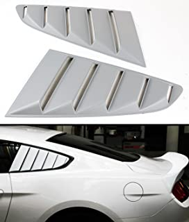Cuztom Tuning Fits for 2015-2018 Ford Mustang GT S550 1/4 Quarter Window Louver Side Vent Scoop Covers