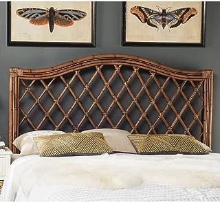 Safavieh Home Collection Gabriella Brown and Multi Wicker Headboard (Queen)