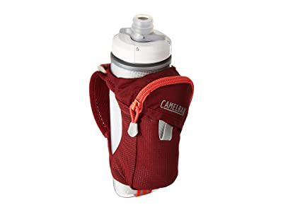 CamelBak 17 oz Quick Grip Chill Handheld (Burgundy/Hot Coral) Backpack Bags