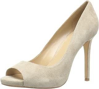 The Fix Amazon Brand Women's Rosalee Peep Toe Platform Stiletto Dress Pump