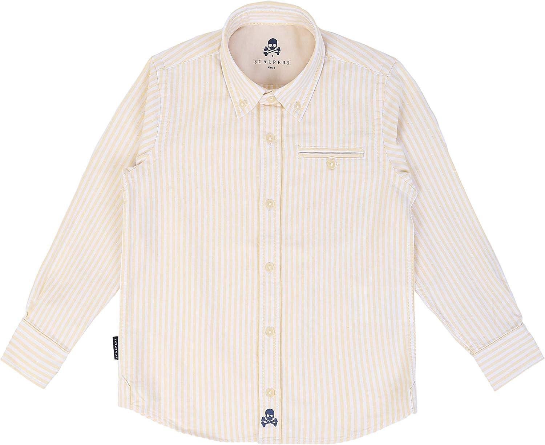 Scalpers BD Pocket Kids Shirt - Camisa para niño, Talla 12 ...