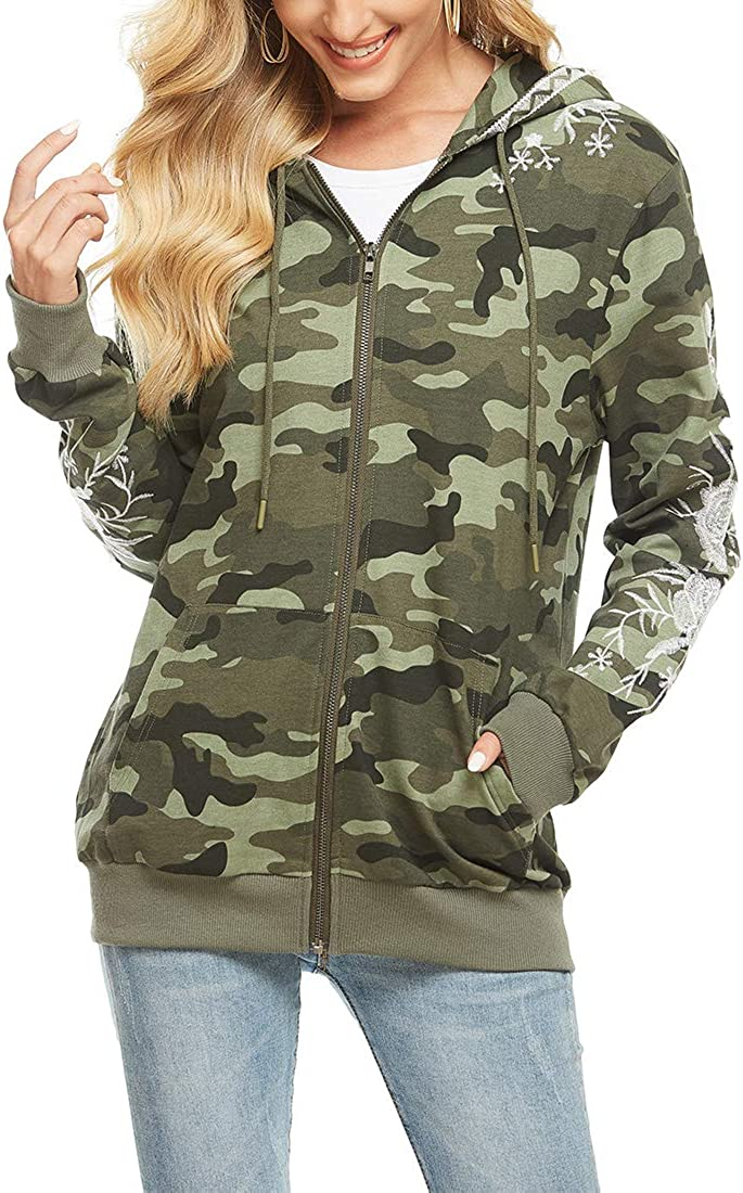 AK Women's Premium Max Time sale 81% OFF Vintage Wash Military Lightweight Embroidery
