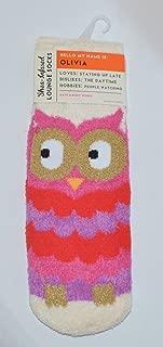 Bath & Body Works Shea Infused Lounge Socks Olivia the Owl