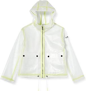 Mek Rain Coat Corto Giacca Impermeabile Bambina