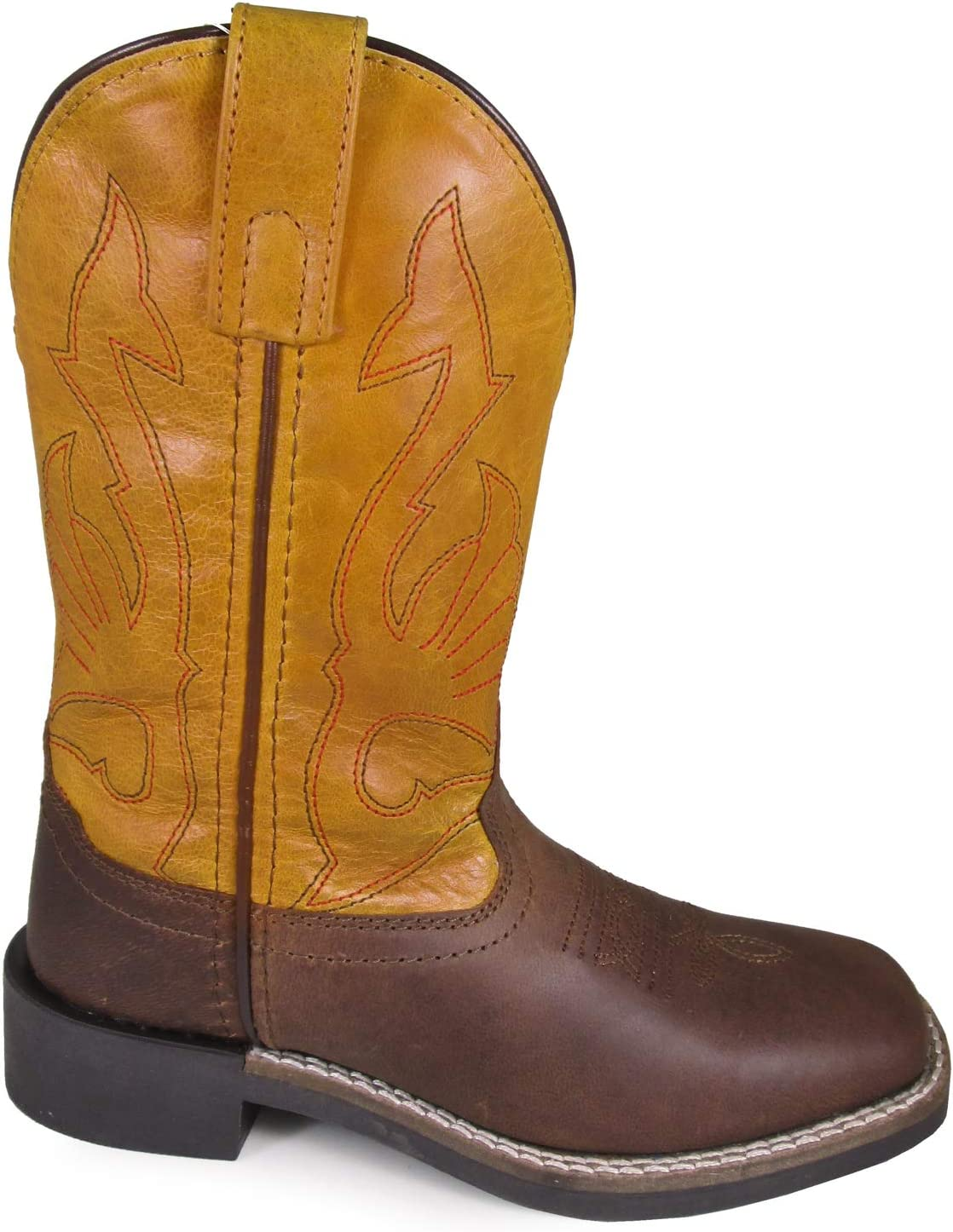Smoky Mountain Youth Sale Unisex Free Shipping Cheap Bargain Gift Crockett Mustard Leather Brown Cowbo