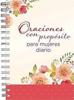Oraciones con propósito para mujeres diario personal (Spanish Edition)