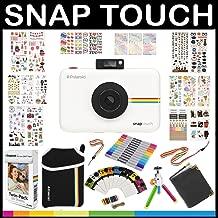 Polaroid Snap Touch Instant Camera Gift Bundle ZINK Paper 9 Unique Colorful Sticker Photo Album Accessories