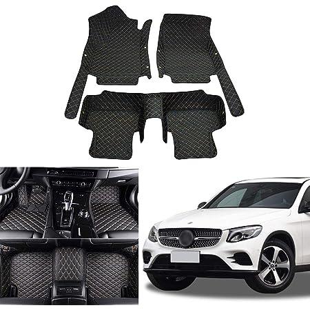 Orealtech Fußmatte Auto Für Mercedes Benz Klasse Glc X253 C253 2016 2019 Allwetter Xpe Leder Autoteppich 3d All Inclusive Stil Automatte Vorn Und Hinten Auto