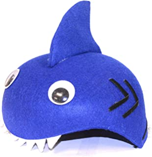 Darice Bulk Buy DIY Kids Dress Up Felt Hat Shark (6-Pack) 106-3025D