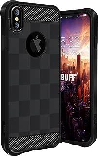Buff BF08636 iPhone X, Armor Kılıf, Siyah