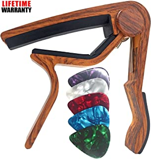 WINGO Guitar Capo for Acoustic and Electric Guitars -...