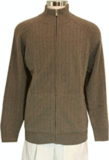 Comaba Mens All-Match Open Front Western Light Weight Sweater Tops