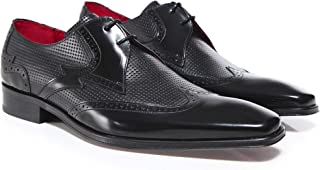 0f8adb02ca5e Jeffery West Men's Perforated Leather Scarface Shoes Black