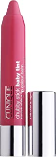 Clinique Chubby Stick Baby Tint Moisturizing Lip Color Balm, No. 02 Coming Up Rosy, 0.08 Ounce