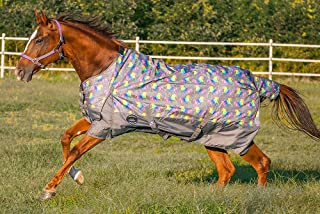 Chicks Saddlery Showman Unicorn Print 1200 Denier Waterproof Turnout Sheet - Horse
