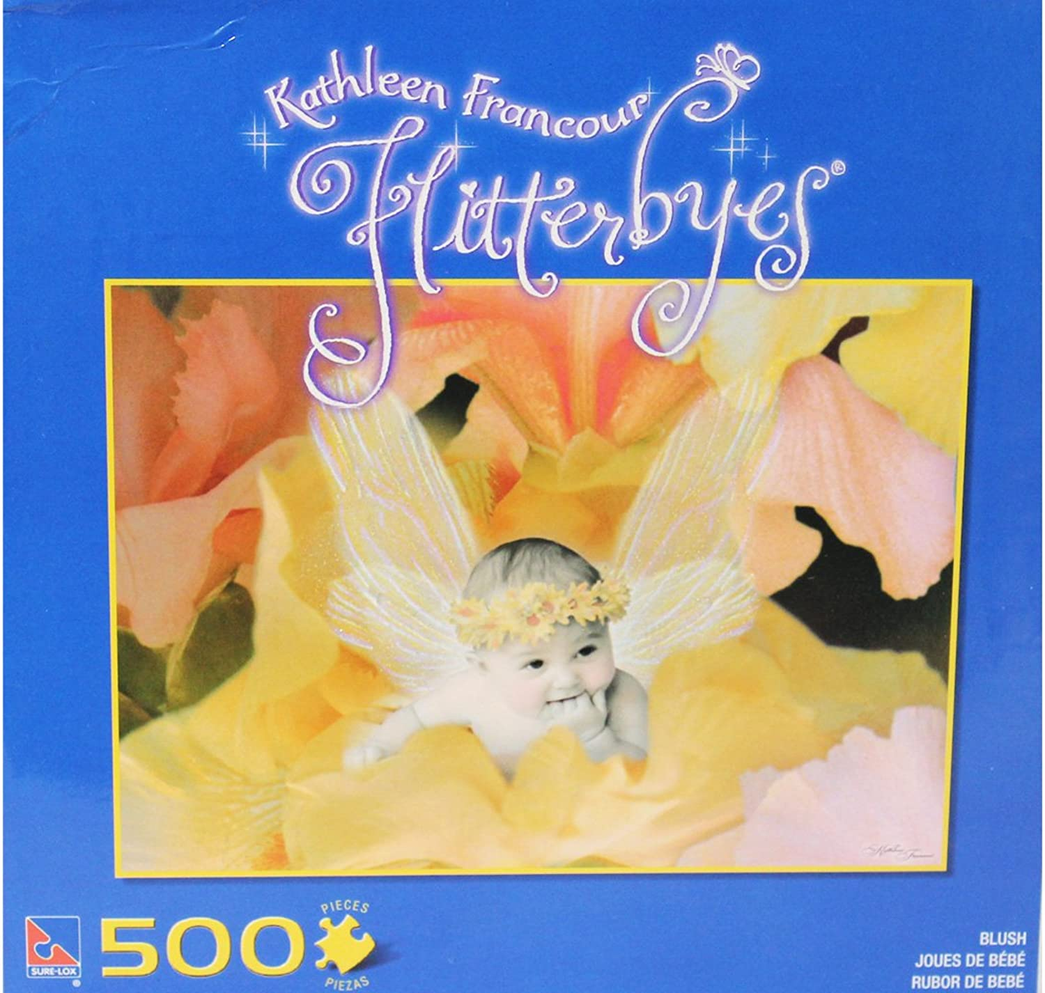 distribución global Kathleen Francour-Flitterbyes-azulsh 500pc Puzzle by The Canadian Group Group Group  tienda de descuento