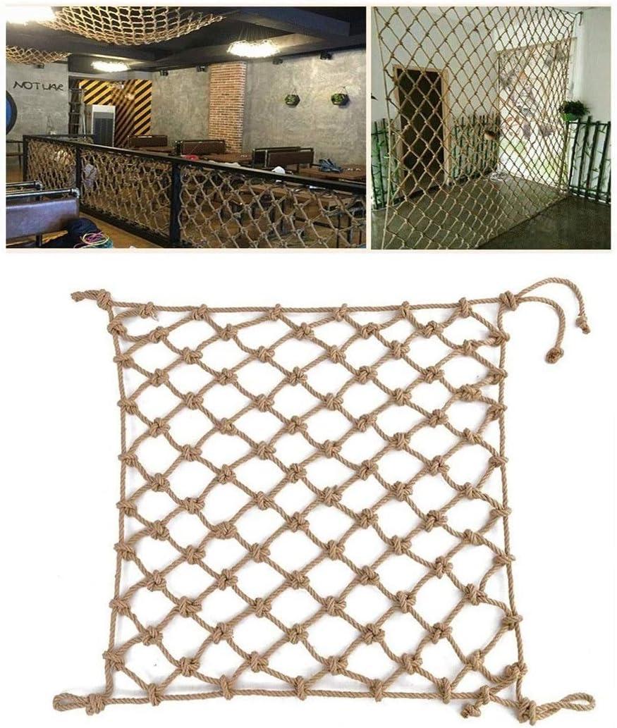 ついに入荷 Hemp Rope Net Balcony Railing S Fence Children's 上等 Protection