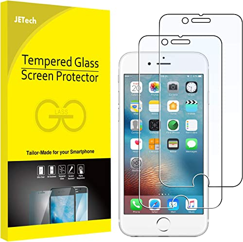 JETech Screen Protector for Apple iPhone 6 and iPhone 6s, 4.7-Inch, Tempered Glass Film, 2-Pack product image