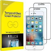 JETech Protector de Pantalla para iPhone 6s y iPhone 6, Vidrio Templado, 2 Unidades