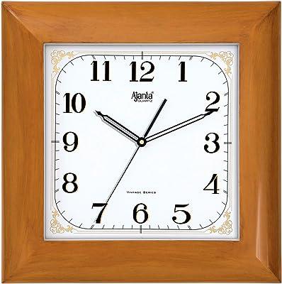 Ajanta 14 Inch Wall Clock for Home (Sweep No TIK TIK)