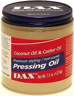 Dax Pressing Oil 7.5oz Jar (2 Pack)