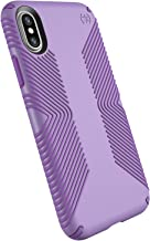 Speck Products Presidio Grip Case for iPhone XS/iPhone X, Aster Purple/Heliotrope Purple