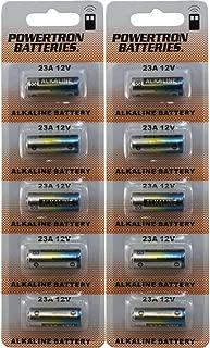 Powertron 23A 12V Alkaline Battery (10 Pack)