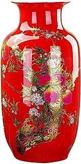 Jarrones Jarrón Flor Florer Crafts Cerámica Piso de cerámica Permanente grande Classical Creativo para flores secas Decora...