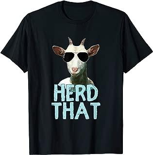 Herd That Goat T Shirt Gift for Goat Lovers